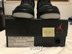100% AUTHENTIC Jordan 4 Kaws! SAMPLE! DS. SIZE 12