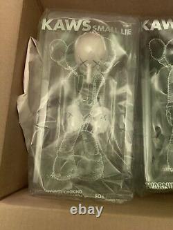 100 % Official Authentic KAWS Small Lie 3 Vinyl Figure Set 2017 Sold Out Print