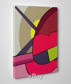 11X14 Each Kaws Gallery Art Canvas Ups & Downs Pop Art- 10 PC Set Contemporary