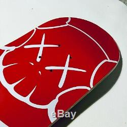 2001 Supreme x KAWS Chum Red Skateboard Deck still in Plastic. Banksy, retna