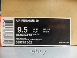 2009 Nike Air Pegasus 89 Berlin US9.5 DS Patta Kaws Atmos