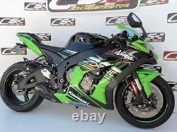 2016-2020 Kawasaki Ninja ZX-10R ZX10RR CS Racing Slip-on Exhaust Amazing Sound