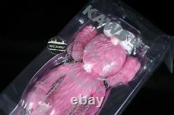2018 KAWS Companion BFF Vinyl Figure Pink Medicom Toy NEW