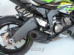 2019-21 Kawasaki ZX-6R Ninja 636 CS Racing Slip-on Exhaust Muffler + dB Killer