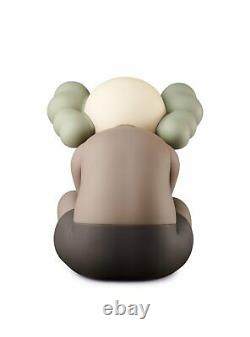 2021 KAWS Separated Brown Vinyl Figure ORDER CONFIRMED FREE SHIPPING