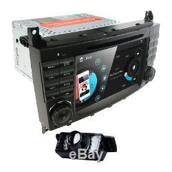 7 Mercedes Benz C Class C230 C240 C280 C320 C350 Car DVD GPS Navigation Stereo