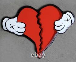 808s and heartbreak Kanye west KAWS Wall Art Original IdiotBox 6/10