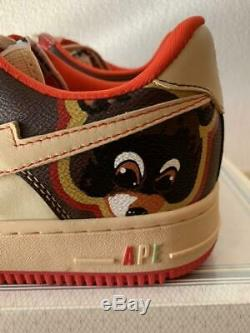 A Bathing Ape BAPE Kanye West BAPESTA × Kaws Bear R Size US 9.5