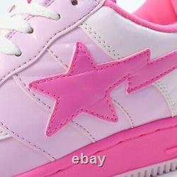 A Bathing Ape Kaws Bapesta Pink Fs-029 Sneaker Pink Us 9