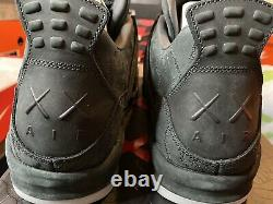 Air Jordan 4 Retro Kaws 930155-001 Men Size 14 New With Box And Accessories