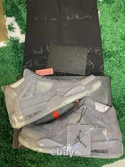 Air Jordan 4 kaws grey Size 10.5 Deadstock
