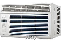 Arctic King 8000 BTU Compact Window Air Conditioner, 350 SqFt Room AC Home Unit
