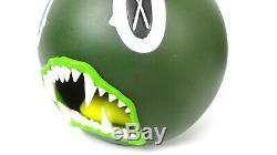 Authentic 2007 Kaws OriginalFake Cat Teeth Bank Green