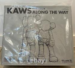 Authentic KAWS Along the Way Vinyl Figure Grey