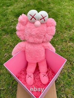 Authentic KAWS BFF Pink Plush MoMA Limited Edition