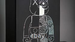 BNIB 2010 Kaws Black Dissected Companion Medicom Bearbrick 400% & 100% Set
