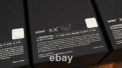 BNIB Kaws Holiday Space Art Figure Complete Set of 3 (Silver, Gold & Black)