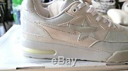 Bape A bathing ape 1600 Bapesta Gray/White 0607FS-034 Size 11 2006 Kaws