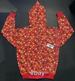 Bape x Kaws x Baby Milo 2004-2005 Hoodie Red Size XL