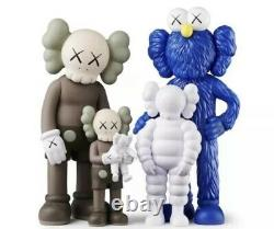 CONFIRMED ORDER KAWS FAMILY Figures Brown/Blue/White