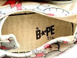 DS Bape x KAWS Bathing Ape Bapesta Apesta Pharrell NERD 12