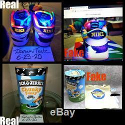 DS LOT F&F Special Box Chunky Dunky Skunks Jordan Kaws 4 Yeezy Sz Size 11.5 12