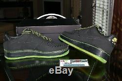 Deadstock Nike Air Force 1 Low Supreme 1World Kaws Black 318985-001 Size 10.5