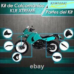 Decal Klr 650 Xtreme, Motorcycle Decal Sticker, Kawasaki, 2008-2015, Calcomania