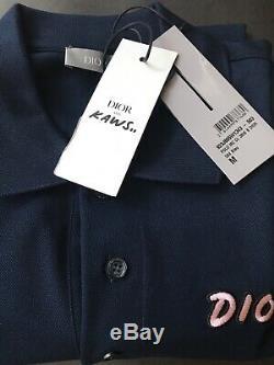 Dior X Kaws Polo Shirt Size M