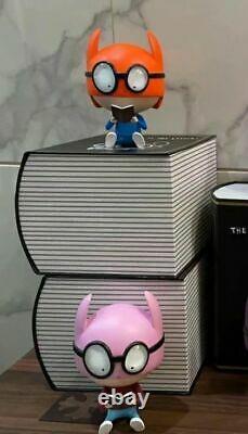 Edgar plans figurine kaws companion pink javier calleja