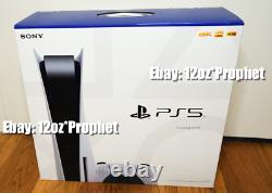 FACTORY SEALED Sony PlayStation 5 Console Disc Version accessories bundle + KAWS