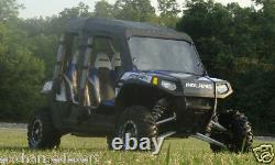 Full Cab Enclosure + Vinyl Windshield Kawasaki Mule TRANS 4000 / 4010 New UTV