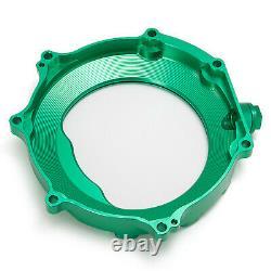 Green CNC Billet Aluminum Clutch Cover for KAWASAKI KFX450R KFX 450R 2008 2014
