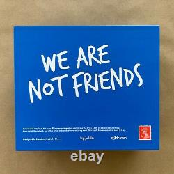 J-ldn Blue We Are Not Friends 75% Shoeuzi Resin Urban Art Toy Wanf Kaws Bff Rare