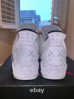 Jordan 4 kaws (Size9) (DS)