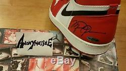 Jordan Retro 1 Chicago'94 Signed UDA DMP 13/14 Kaws4 Yeezy Zebra Fragment1 sz13