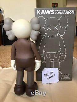 KAWS 5YL Brown Companion MIB Original Box Receipt Supreme Original Fake
