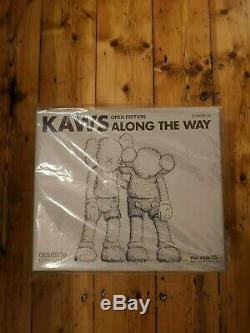 KAWS Along The Way Vinyl Figure Grey UK STOCK NGV 100% Authentic