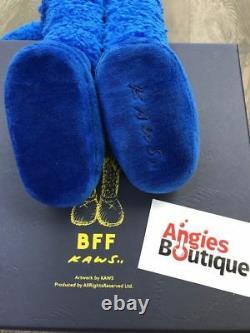 KAWS BFF 20 Blue Plush Original 100% Authentic Limited Ed of 1000