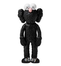 KAWS BFF Open Edition Vinyl Figure Black 100% Authentic IN HAND (Unopened)