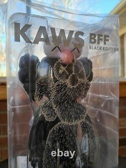 KAWS BFF Open Edition Vinyl Figure Black 100% Authentic Unopened