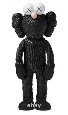 KAWS BFF Open Edition Vinyl Figure Black UK STOCK NGV MOMA