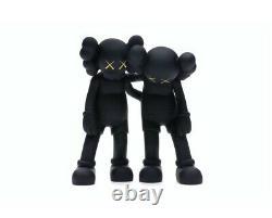 KAWS BLACK Along The WAY COMPANION Figure set TOY ART PRINT 100% AUTHENTIC