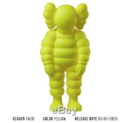 KAWS Chum What Party Vinyl Figure Yellow SOLD OUT