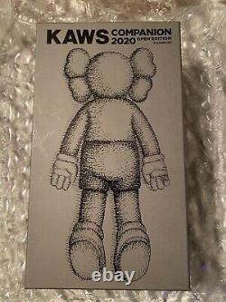 KAWS Companion 2020 Figure Brown Brand New In Box Unopened