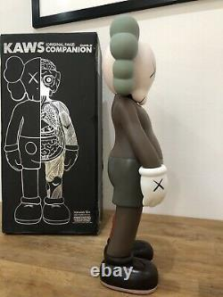 KAWS Companion Dissected 16 PVC Action Figure Toy Brown