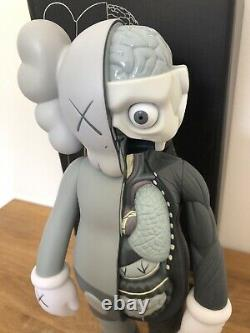 KAWS Companion Dissected 16 PVC Action Figure Toy Grey