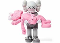 KAWS Companion Gone NGV Grey Pink Vinyl Authentic Sold Out New Unopened