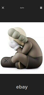 KAWS Companion Separated Brown Vinyl Figure 2021 in hand what party brooklyn NEW