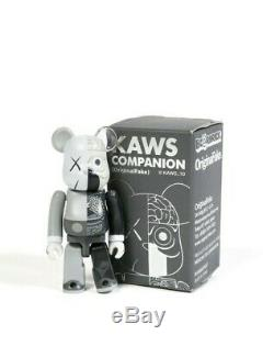 KAWS Dissected Bearbrick 100% ONLY (Gray) Medicom AUTHENTIC